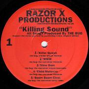 2 x 12inch Vinyl Single - Razor X Productions - Killing Sound
