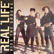 12inch Vinyl Single - Real Life - Kiss The Ground