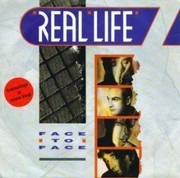 7inch Vinyl Single - Real Life - Face To Face - Red Clear