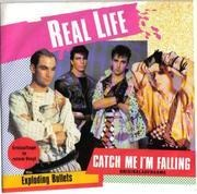7'' - Real Life - Catch Me I'm Falling - Red Transparent