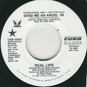 7'' - Real Life - Send Me An Angel '89