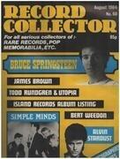 magazin - Record Collector - No.60 / AUG. 1984 - Bruce Springsteen