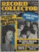 magazin - Record Collector - No.63 / NOV. 1984 - David Bowie
