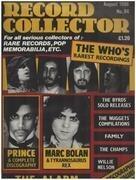 magazin - Record Collector - No.84 / AUG. 1986 - The Who