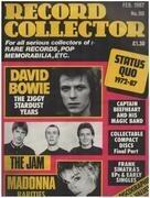 magazin - Record Collector - No.90 / FEB. 1987 - David Bowie