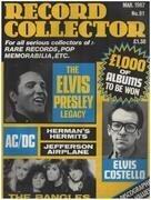 magazin - Record Collector - No.91 / MAR. 1987 - Elvis Presley