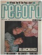 magazin - Record Mirror - JUL 14 / 1984 - Blancmange