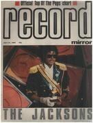 magazin - Record Mirror - JUL 21 / 1984 - The Jacksons