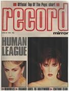 magazin - Record Mirror - JUN 23 / 1984 - Human League
