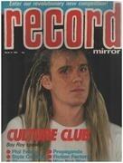 magazin - Record Mirror - MAR 31 / 1984 - Boy Roy