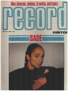 magazin - Record Mirror - MAY 12 / 1984 - Sade