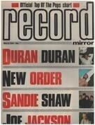 magazin - Record Mirror - MAY 5 / 1984 - Duran Duran