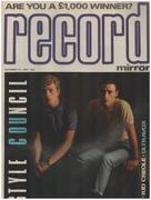 magazin - Record Mirror - OCT 13 / 1984 - Style Council