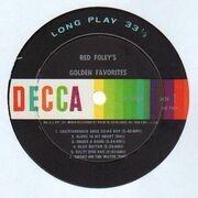 LP - Red Foley - Red Foley's Golden Favorites