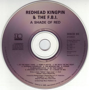 CD - Redhead Kingpin And The FBI - A Shade Of Red