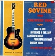 LP - Red Sovine, Jerry Shook - Country Fine