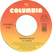 7inch Vinyl Single - Regina Belle - If I Could