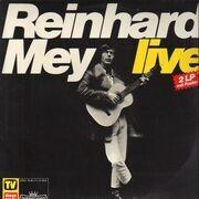 Double LP - Reinhard Mey - Live - POSTER