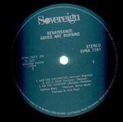 LP - Renaissance - Ashes Are Burning - orig 1st uk press