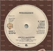 7inch Vinyl Single - Renaissance - Jekyll And Hyde