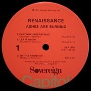 LP - Renaissance - Ashes Are Burning