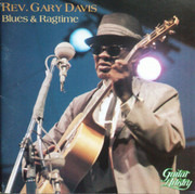 CD - Rev. Gary Davis - Blues & Ragtime