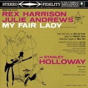 CD - Rex Harrison , Julie Andrews With Stanley Holloway Book And Lyrics By Al Lerner Music By Frederick - My Fair Lady - Super Bit Mapping