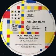 12'' - Richard Marx - Don't Mean Nothing