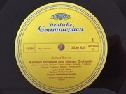 LP - Richard Strauss / Karajan, Berliner Philh. - Oboenkonzert D-Dur / Hornkonzert Nr. 2 Es-Dur