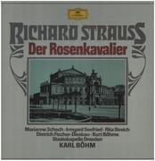 LP-Box - Richard Strauss - Marianne Schech , Irmgard Seefried , Rita Streich , Dietrich Fischer-Dieskau , Ku - Der Rosenkavalier - Hardcover Box
