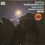 LP - Richard Strauss , Georg Solti , Symphonie-Orchester Des Bayerischen Rundfunks - An Alpine Symphony (Eine Alpensinfonie) Op.64