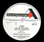 LP - Richard Strauss , Wiener Philharmoniker / Herbert von Karajan - Till Eulenspiegel's Merry Pranks / Dance Of The Seven Veils / Tod Und Verklärung