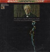 LP - Richard Strauss - Also Sprach Zarathustra, Don Juan, Rudolf Kempe, Staatskapelle Dresden
