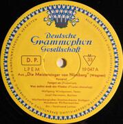 LP - Wagner - Die Meistersinger Von Nuernberg (Querschnitt) - Tulip rim / Mono