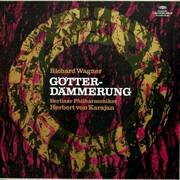 LP-Box - Wagner (Karajan) - Götterdämmerung - linen Hardcoverbox + booklet