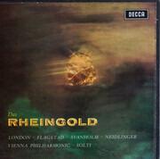 LP-Box - Richard Wagner - George London , Kirsten Flagstad , Set Svanholm , Gustav Neidlinger , Georg Solti - Das Rheingold