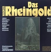 LP-Box - Richard Wagner - Theo Adam , Siegmund Nimsgern , Peter Schreier , Roland Bracht , Matti Salminen , - Das Rheingold - booklet with libretto , linen box