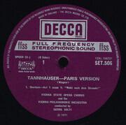 LP-Box - Wagner / Solti - Tannhäuser (Paris Version) - ffss / Hardcoverbox + booklet