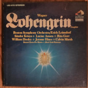 LP-Box - Wagner - Lohengrin - Hardcover Box + Booklet /Red Seal/Dynagroove