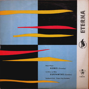 10'' - Richard Wagner , Carl Maria Von Weber , Staatskapelle Berlin , Franz Konwitschny - Rienzi (Ouvertüre), Euryanthe (Ouvertüre)