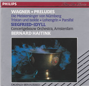 CD - Wagner (Haitink) - Preludes, Siegfried-Idyll