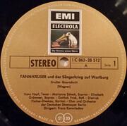 LP - Wagner - Tannhäuser (Großer Querschnitt) Dresdener Fassung