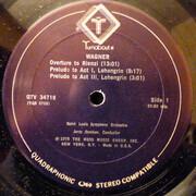 LP - Richard Wagner , Jerzy Semkow , Saint Louis Symphony Orchestra - Overtures & Preludes
