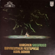 LP-Box - Wagner (Böhm) - Siegfried - Bayreuther Festpiele - Hardcoverbox + booklet / Promo