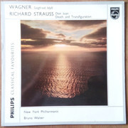 LP - Wagner / R. Strauss (Walter) - Siegried Idyll / Don Juan / Death And Transfiguration - Mono
