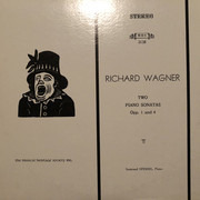 LP - Wagner - Two Piano Sonatas Opp. 1 and 4
