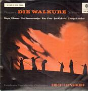LP - Wagner - Die Walküre (Szenen) - Mono / Red Seal
