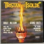 LP-Box - Richard Wagner / Birgit Nilsson , Fritz Uhl , Regina Resnik , Tom Krause , Arnold Van Mill - Georg - Tristan Und Isolde - booklet with libretto