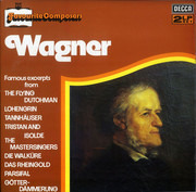 Double LP - Richard Wagner - Favourite Composers: Wagner - Gatefold / ffss
