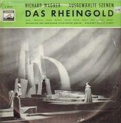 LP - Richard Wagner / Orchester der Berliner Staatsoper unter Rudolf Kempe - Das Rheingold